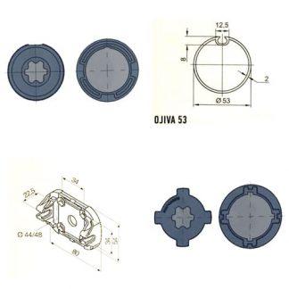 Adaptadores Y Soportes Motores Tubulares