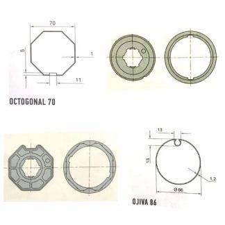 Serie Era L 58mm Diámetro