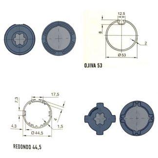 Serie Era M 45mm Diámetro