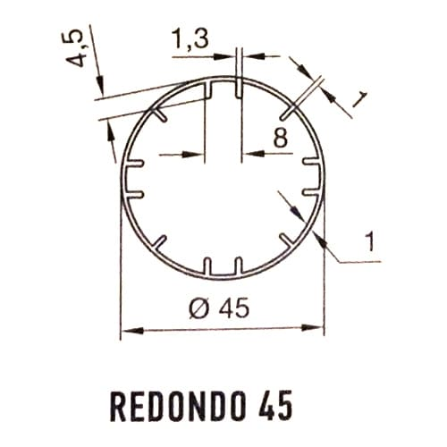 redondo-45x4-5