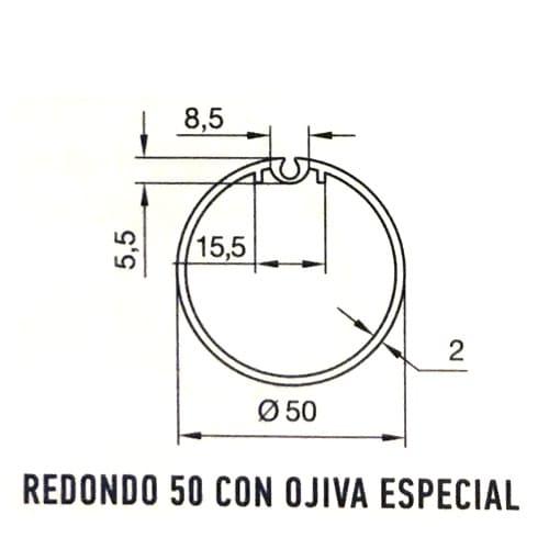 redondo-50-ojiva-especial