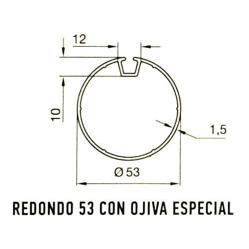 redondo-53-ojiva